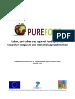 PUREFOOD - Prograrma PGDR gen Information Pack