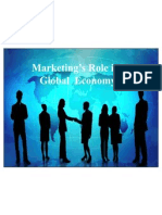Marketing's Role in the Global Economy