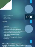 Financial Management Presentation - Himali Sirohi.pptx
