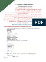 Assignment - 1 Class 12 - Gargee - 2020-21