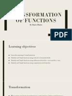 Transformation of Functionda doc