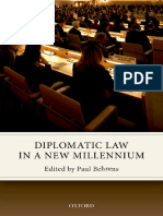 Paul Behrens - Diplomatic law in a new millennium-Oxford University Press (2017)