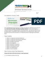 pinoybix.org-Malvino MCQ in Nonlinear Op Amp Circuits