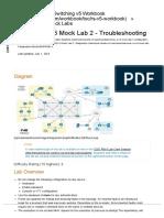 CCIE R&S v5 Mock Lab 2 - Troubleshooting