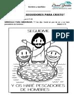 Clase 6 - Ganando seguidores para Cristo (niños)
