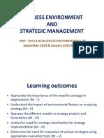 Module 1 Foundations of Strategic Analysis