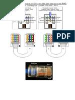 Código de colores para cables de red RJ45