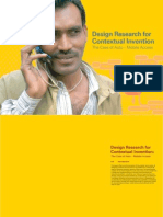 Design Research Contextual Invention