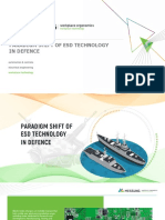 Paradigm Shift of ESD Technology in Defence PPT