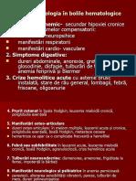 hematologie-semiologie sem II  2020