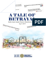 A Tale of Betrayal-AAPs Manifesto Review Final File