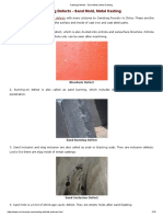 Casting Defects - Sand Mold, Metal Casting.pdf