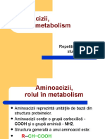1Aminoacizi, structură, clasificare, metabolism