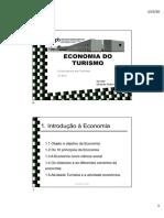 1.Problema Económico e o Turismo