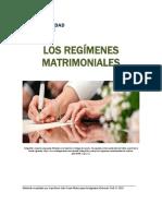 Unidad 1. Recurso 1. Los Regimenes Matrimoniales 2018