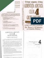 4852103 Dr Peter J DAdamo a Adecvata Grupelor Sanguine