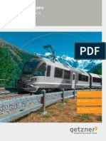 Brochure Elastic Solutions for Rolling Stock En