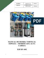 Manual de Bomba Vertical ESPIASA 2.5x48 - Modificada Alta CAbeza.pdf