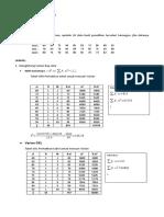latihan soal Homogensi statistik