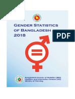 Gender Statistrics of Bangladesh 2018