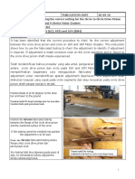 Procedure to check Correct Pinion to Circle adjustment for 16H and M Motor Graders.pdf