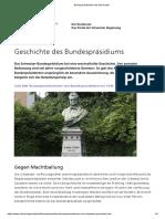 07 Bundespräsidenten und Geschichte