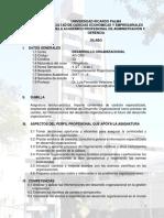 SILABO RICARDO PALMA desarrollo-organizacdional