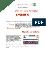 Tutorial English B1