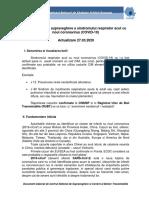 Metodologia de supraveghere a COVID-19_Actualizare 27.03.2020