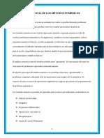 IMPORTANCIA DE LOS METODOS NUMERICOS.docx