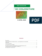 Point de Conjoncture INSEE 09 avril 2020