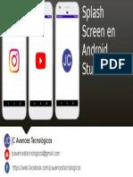 Splash Screen en Android Studio | Pantalla de Bienvenida en Android | Pantalla de Inicio en Android