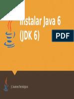 cómo instalar java 6 en windows 10