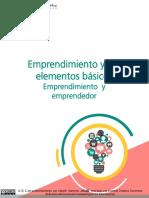 El Emprendimiento & sus Elementos Basicos - Lisbeth Sanchez.pdf