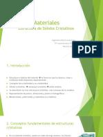 3-Estructura de sólidos cristalinos