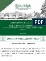 2.0 Aspectos Normtivos (NSR-10)