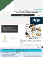 Relaciones  Tributarias Y Aduaneras, los Sujetos y.pptx