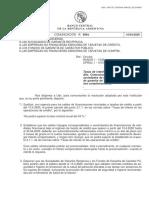 Comunicación A6964 del BCRA