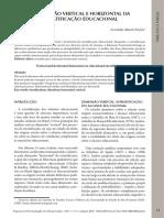 MONT'ALVÃO_A dimensão vertical e horizontal da estratificação educacional