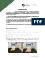 Ejercicios de equilibrio estático y dinámico tras un ictus (II)