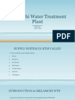 Melamchi Water Treatment Plant