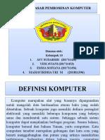DASAR-DASAR PEMROSESAN KOMPUTER1