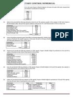 2. Budgetary Control Numerical