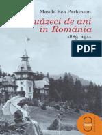 Maude Rea Parkinson Douazeci de Ani in Romania