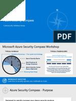 Azure Security Compass v1.1 - Presentation