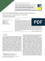 Respuesta Sísmica de interacción suelo-estructura de estructuras inelasticas