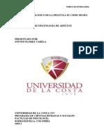 INFORME PSICOLOGICO DE LA PELICULA EL CISNE NEGRO