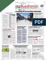 Rising Kashmir Newspaper dated 11th April 2020