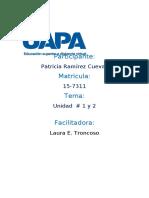 tAREA 1 TEORIA DE LOS TEST