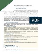CRITERIOS SÍNTESIS DOCUMENTAL